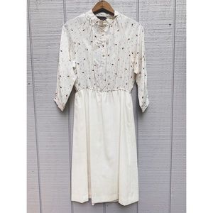 Vtg 70's Shelby Place Dress